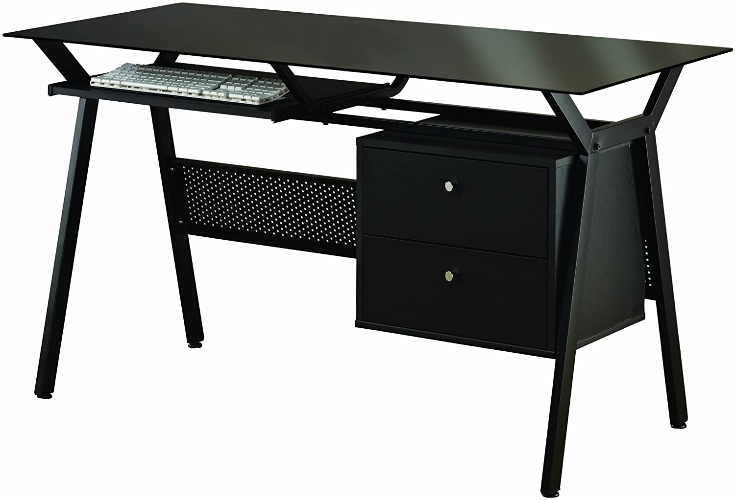 Black Metal Computer Desk 1500 x 1022