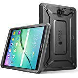Galaxy Tab S2 8.0 Case, SUPCASE [Heavy Duty] Case for Samsung Galaxy Tab S2 8.0 Tablet [Unicorn Beetle PRO Series] Rugged Hybrid Protective Cover w/ Builtin Screen Protector Bumper (Black/Black) (Color: Black/Black)