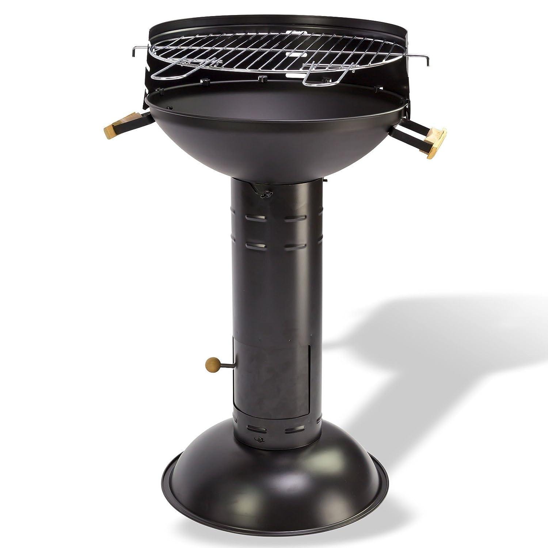 Säulengrill – Standgrill – Grill – BBQ Schwarz 58 x 58 x 83 cm jetzt bestellen