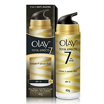 Olay Total Effects Cream + Serum Duo SPF-15