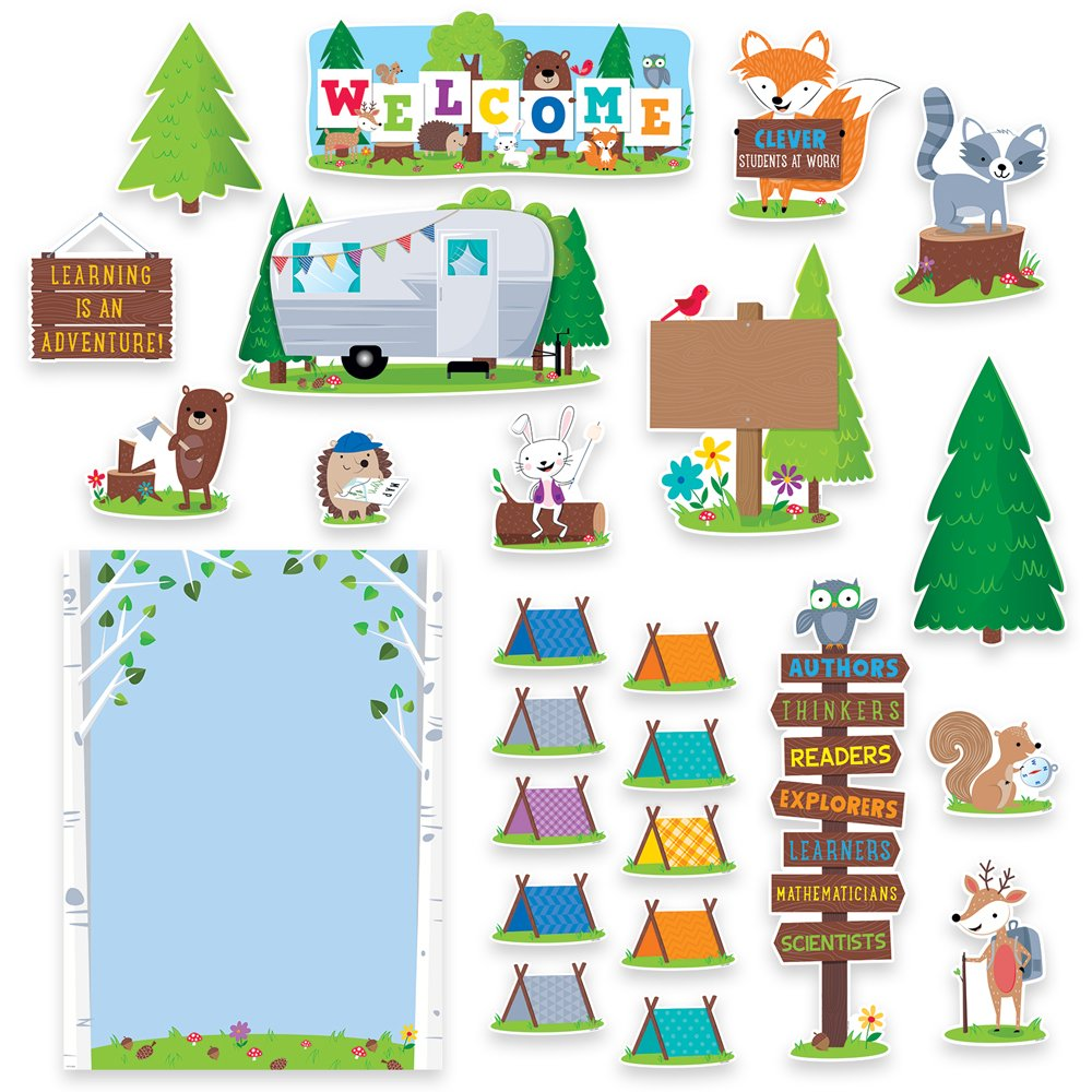 Creative Teaching Press Woodland Friends Woodland Welcome Bulletin Board (7069)