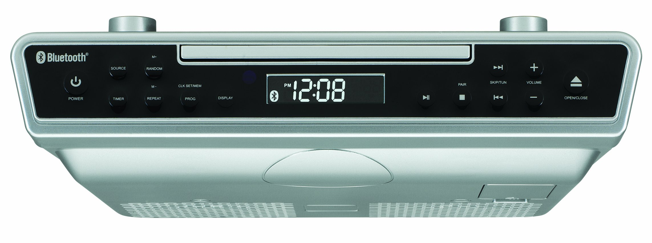 Under Cabinet Radio Clock Cd Bluetooth Remote Music