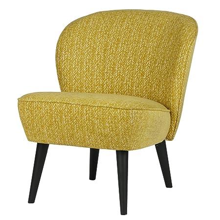 Vintage Sessel Polstersessel SUZE ocker Loungesessel Clubsessel Fernsehsessel