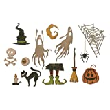 Sizzix 664209 Frightful Things by Tim Holtz Dies (Color: Frightful Things)