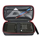 HESPLUS Hard Case with Mesh Pocket for Texas Instruments TI-Nspire CX/CAS Graphing Calculator (Tamaño: TI-Nspire CX / CAS)