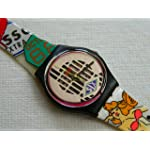 "1993 Swatch GB151 ""Big Enuff"". New in Original Box"