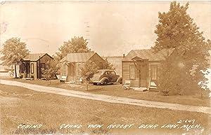 Grand View Resort in Bear Lake, Michigan 1947