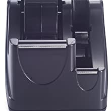 Officemate Recycled 2-In-1 Heavy Duty Tape Dispenser, Black (96690)
