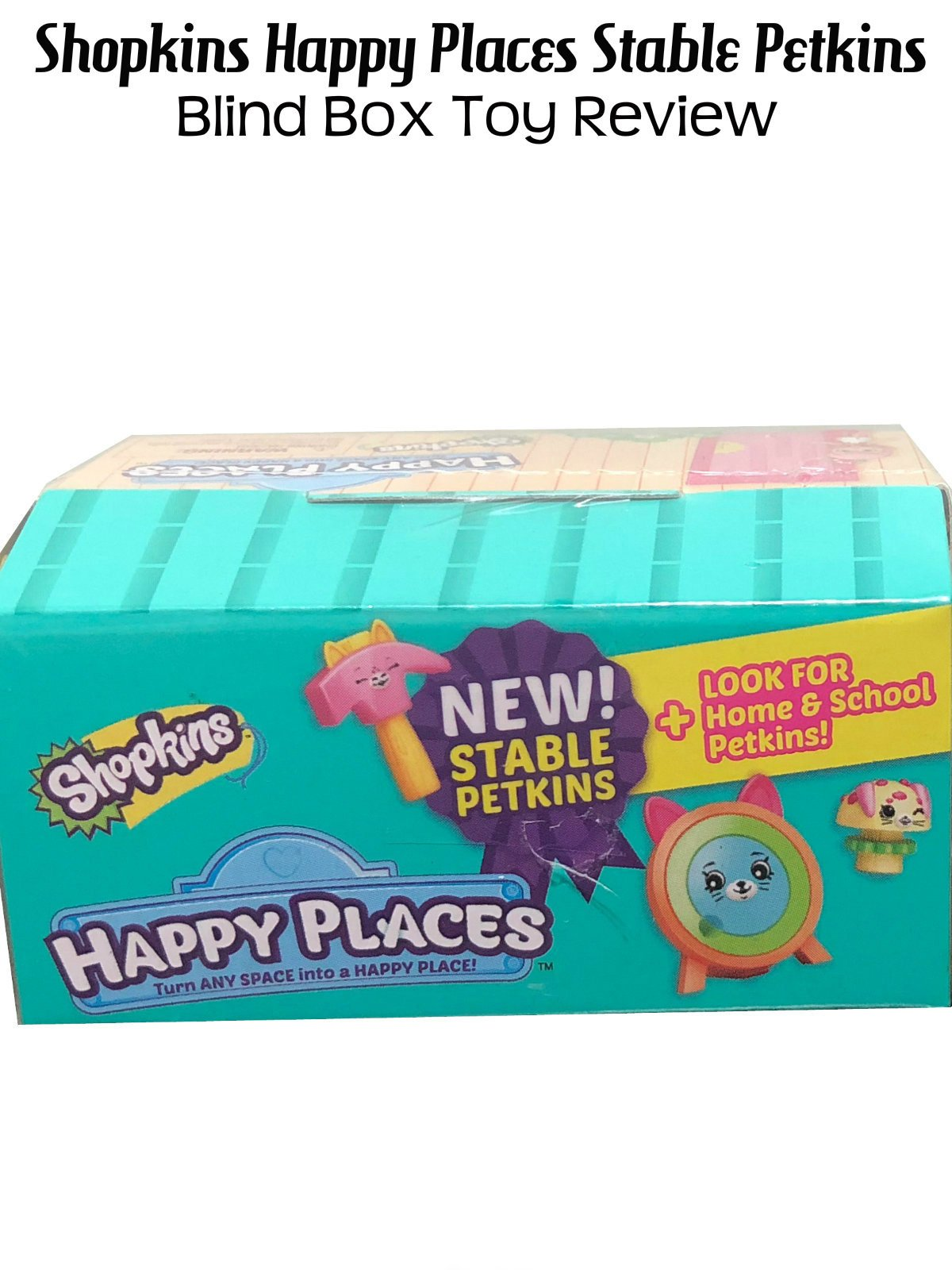 Review: Shopkins Happy Places Stable Petkins Blind Box Toy Review