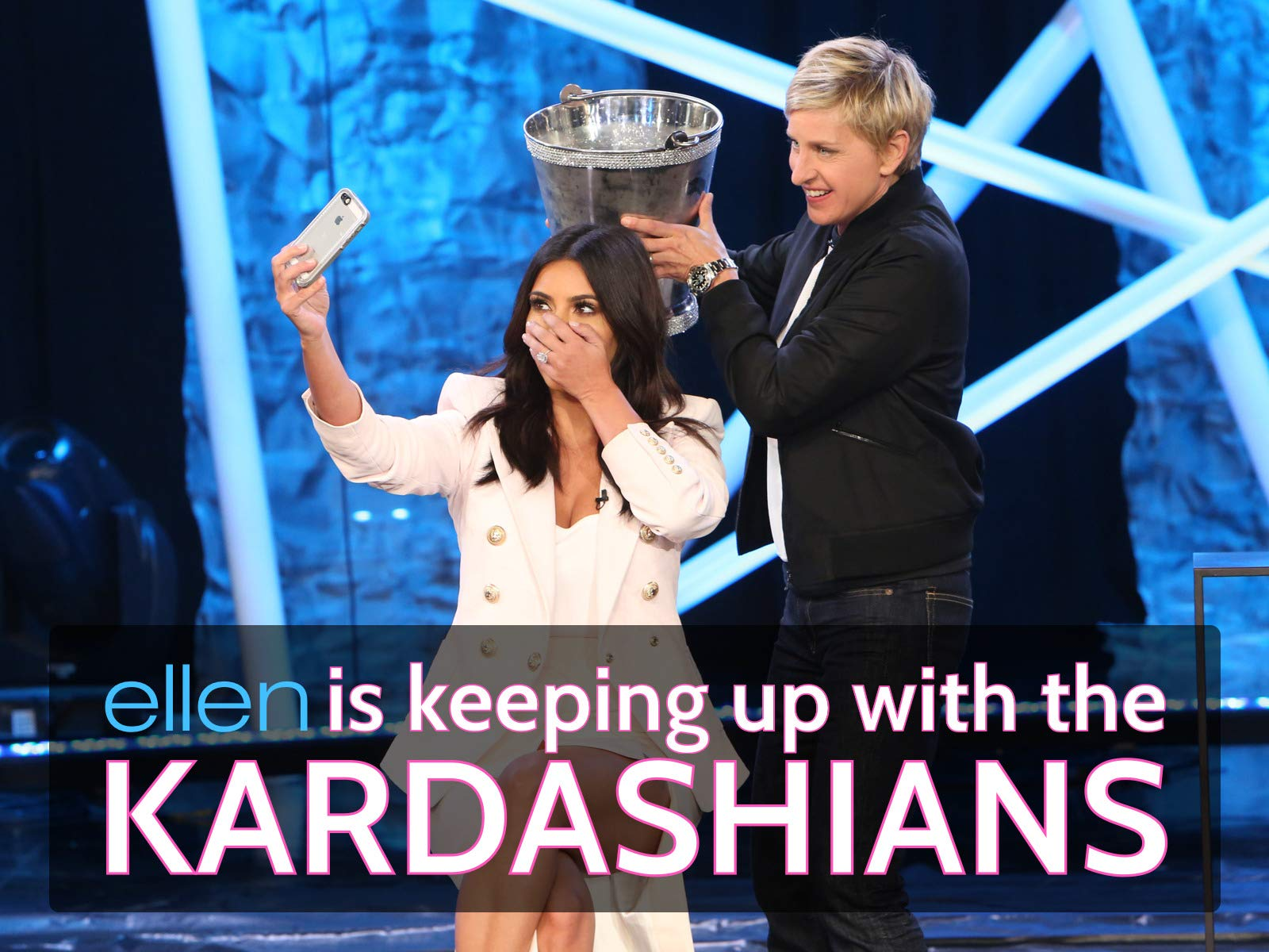 Ellen Is Keeping Up with the Kardashians