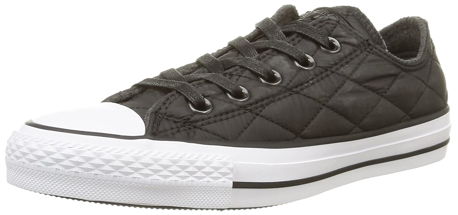 Converse chuck taylor all star quilted ox black black for Converse all star amazon