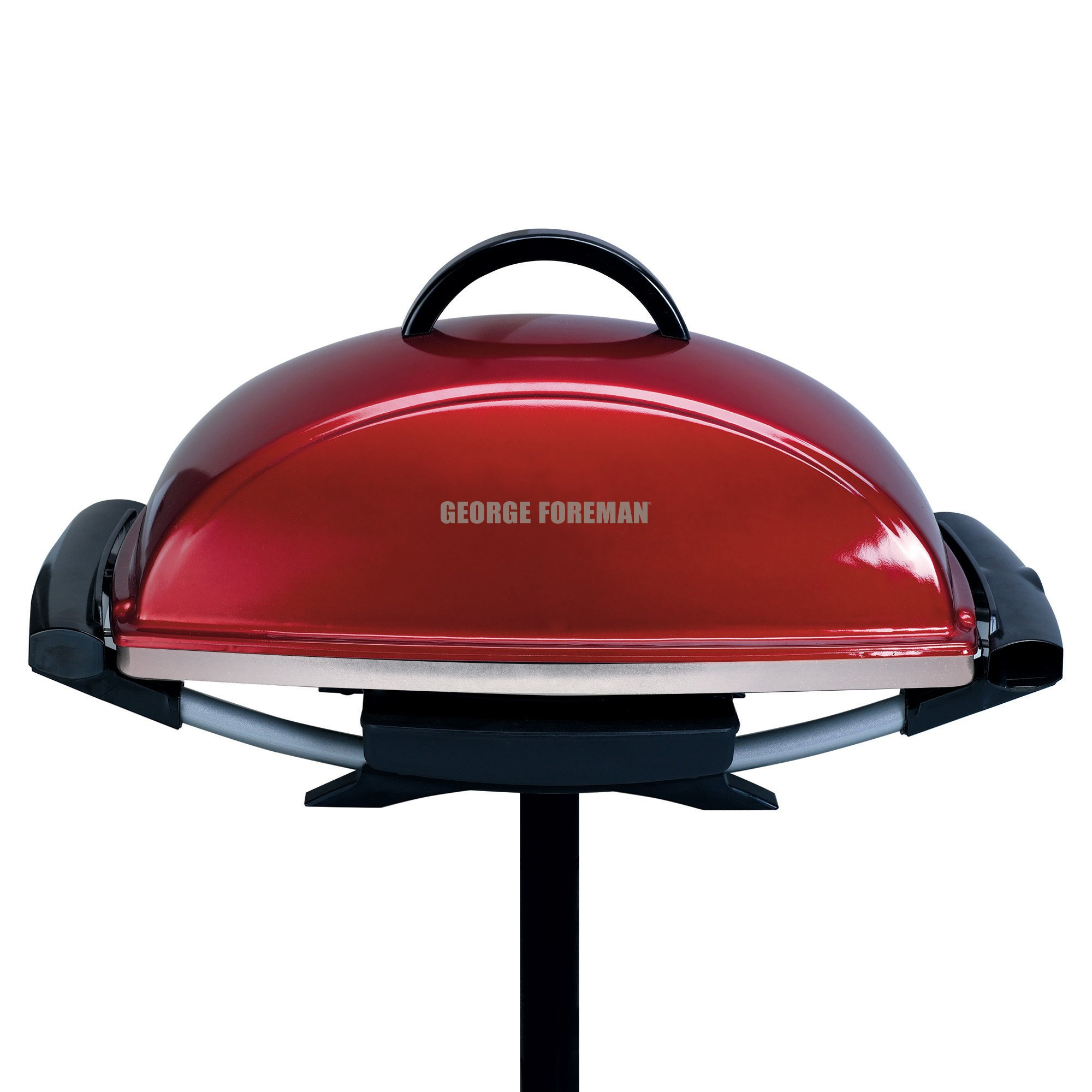 George Forman Electric Indoor ~ George foreman gfo rx indoor outdoor electric grill red