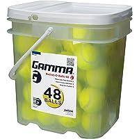 48-Pack Gamma Sports Bucket or Bag of Pressureless Tennis Balls