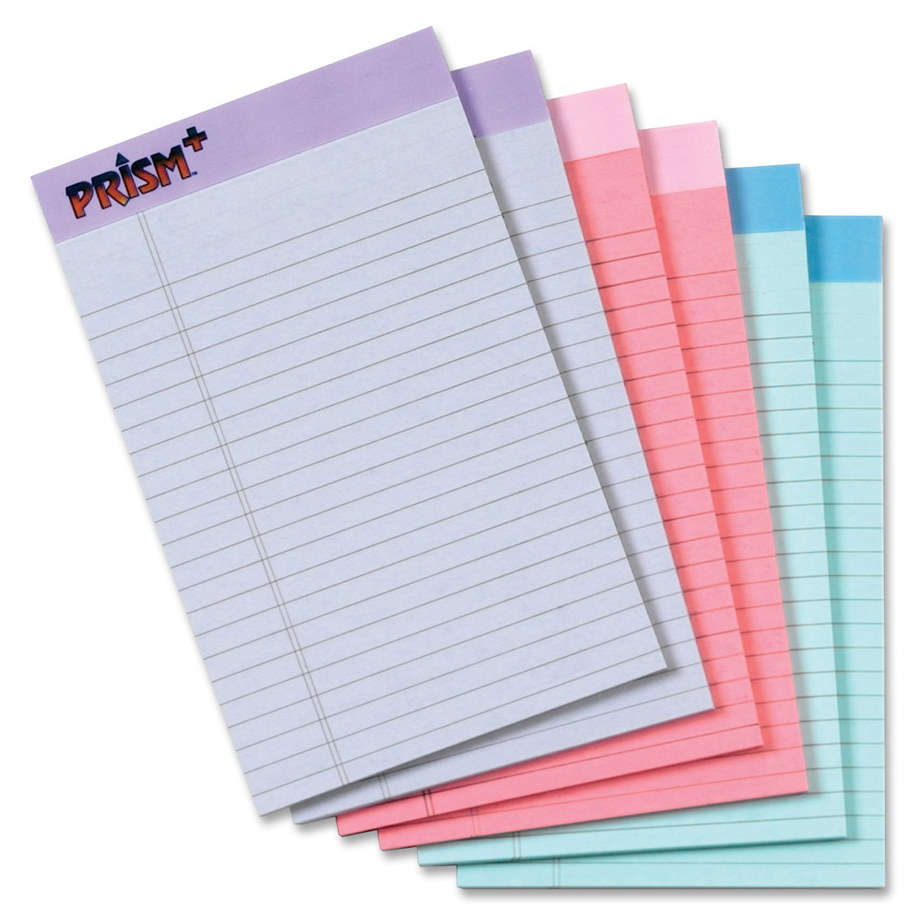 writing pads By anna griffin® this notepad set will come tied together with a knotted satin ribbon in a clear bag, ready for gift giving set includes 3 notepads, 100 sheets per pad for a total of 300 sheets.