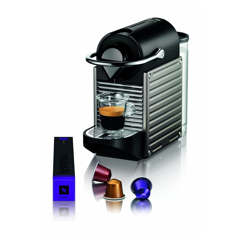 vente krups yy1201fd nespresso pixie machine espresso. Black Bedroom Furniture Sets. Home Design Ideas