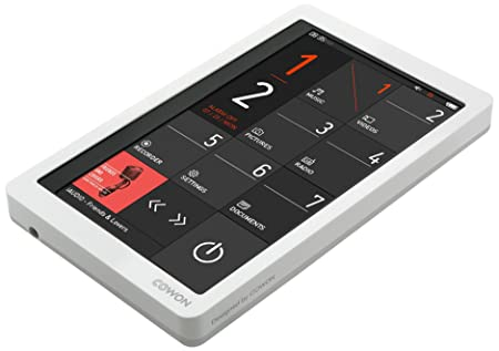 "Cowon - X 9-32G-WH - Baladeur - MP3 - Ecran tactil 4,3"" - Sortie TV - 32 Go - Blanc"