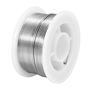 MAIYUM 63-37 Tin Lead Rosin core solder wire for electrical soldering (0.6mm 100g) (Color: 0.6mm 100g, Tamaño: 0.6mm 100g)