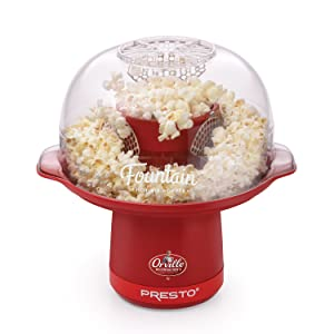 Presto 04868 Orville Redenbacher's Fountain Hot Air Popper