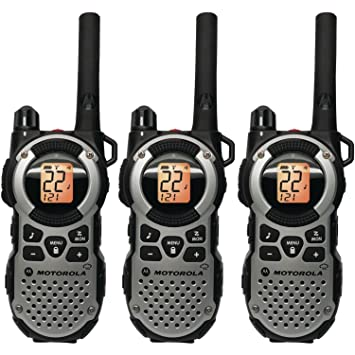 Best Waterproof Walkie Talkies -Motorola MT352TPR FRS Weatherproof Two-Way