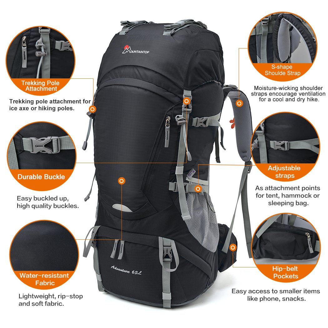 Top 10 Outdoor Hiking Backpacks 2017 Revised