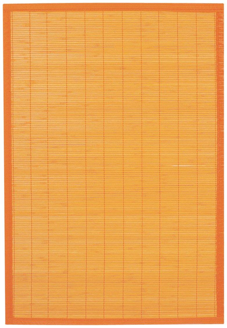 Ridder 79513040-350 Beach - Alfombra de baño de madera (60 x 90 cm, 100 % bambú), color naranja   Comentarios de clientes y más información