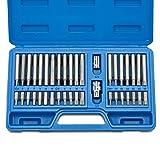 Neiko 10280B Combination Hex, Torx, and XZN Triple Square Driver Socket Bit Set   40-Piece Set (Tamaño: 1-Pack)