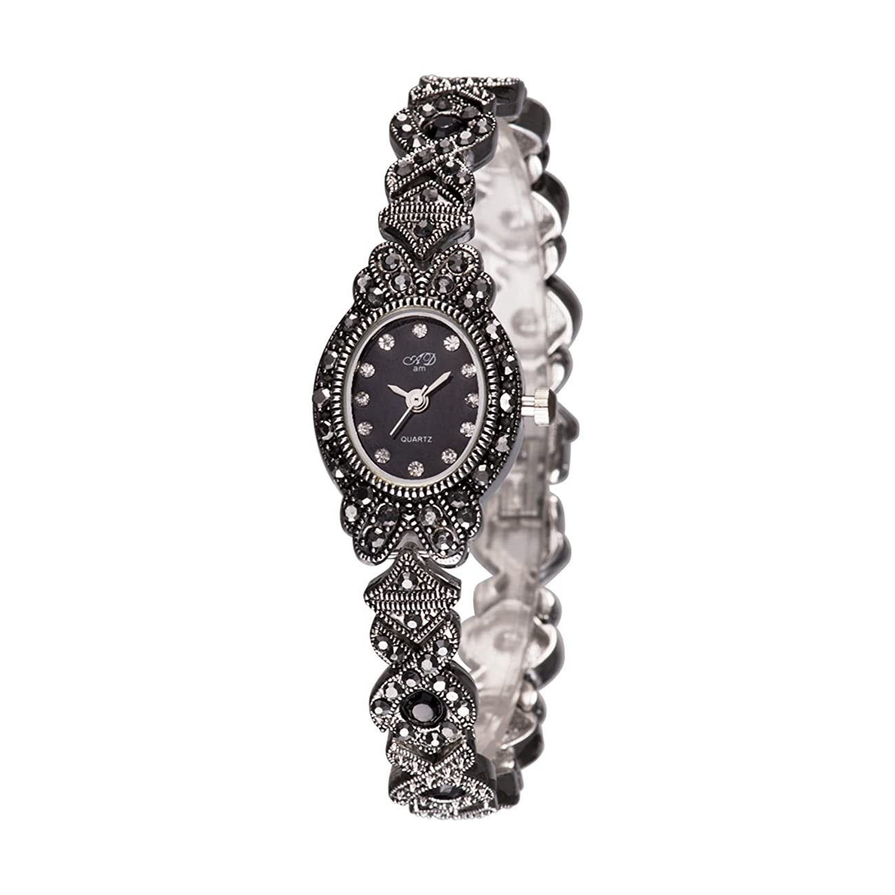 TAWURS Black Retro Ladies Watches in women 0
