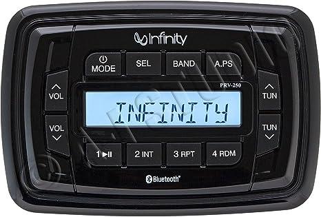 Infinity PRV250 AM FM BT Stereo Receiver
