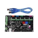 KINGPRINT 3D Printer MKS Gen V1.4 Controller Board Mega 2560 R3 Motherboard RepRap Ramps1.4 Compatible with USB