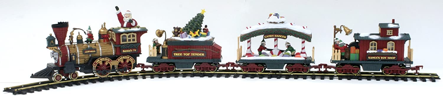 train set for christmas tree
