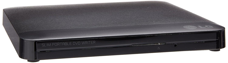 LG Electronics 8X USB 2.0 Slim Portable DVD+/-RW External Drive with M-DISC Support, Retail (Black) GP50NB40