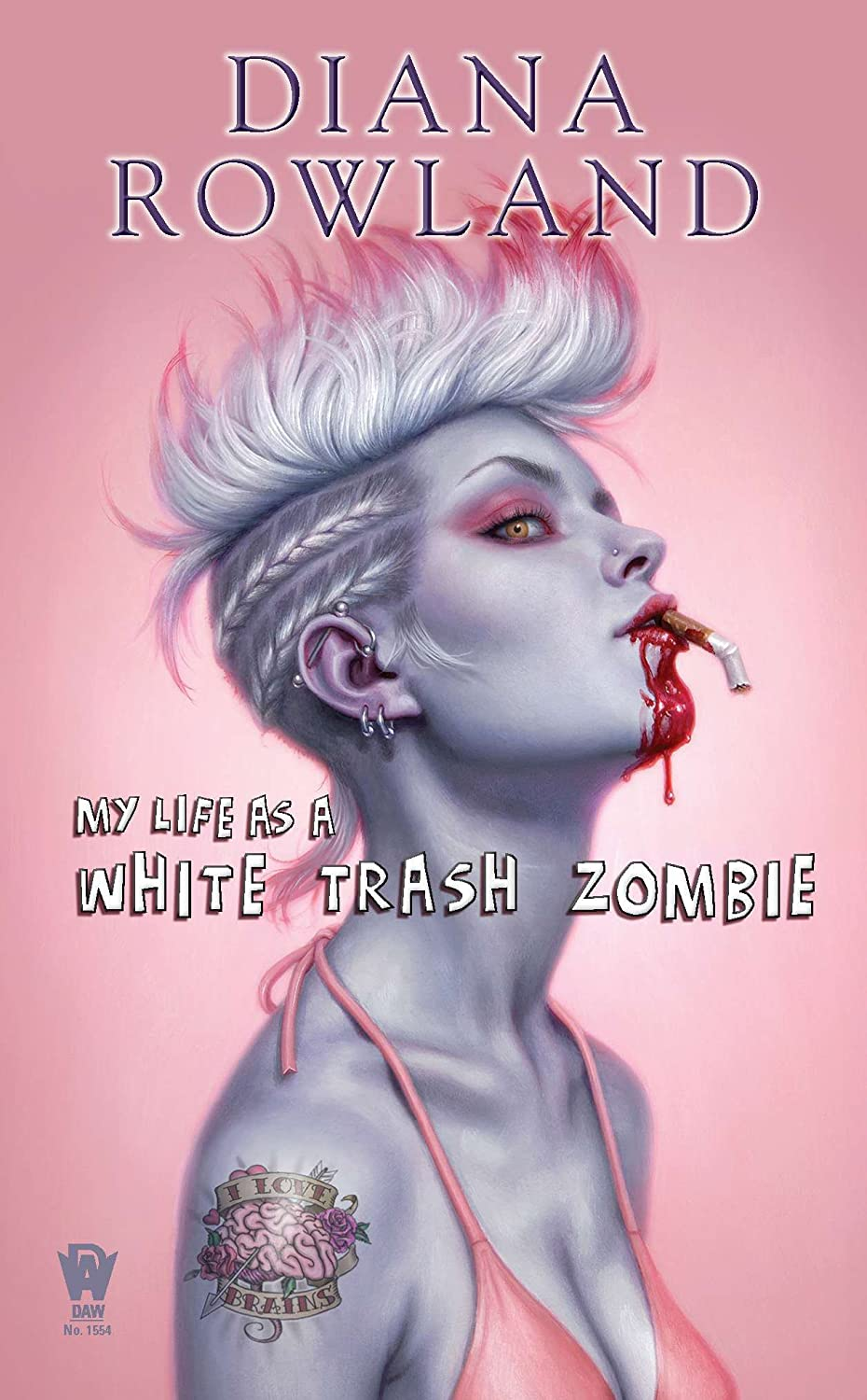 Cover Art: My Life As A White Trash Zombie