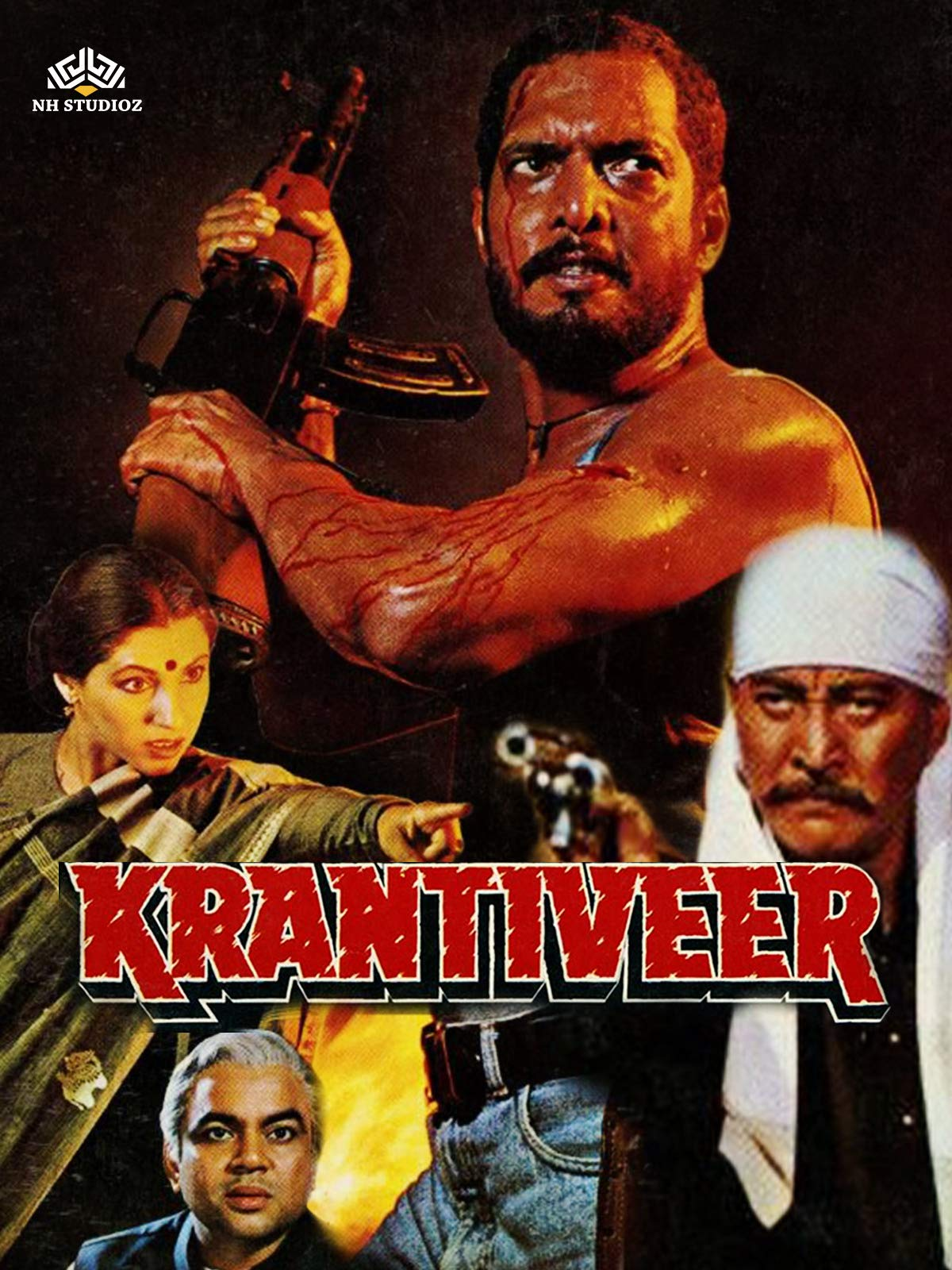 Krantiveer on Amazon Prime Video UK