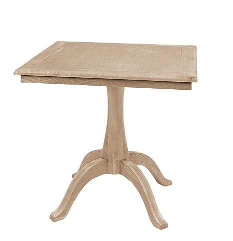 Fink Lugano Oiled Oak Square Table 80x 80cm, height 78cm