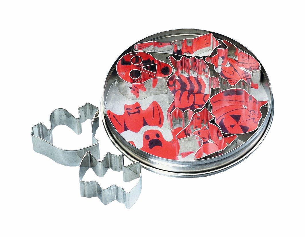 Birkmann 170360 - Moldes para galletas, diseño de Halloween, 8 piezas, de 4 a 6 centímetros   Revisión del cliente y más noticias