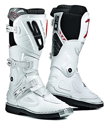 Sidi 000MMSTINGER bIBI bottes de moto blanc