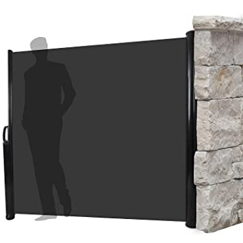 ausziehbarer sichtschutz windschutz 300x160cm. Black Bedroom Furniture Sets. Home Design Ideas