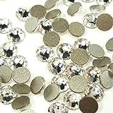 288 pcs (Factory Pack) Crystal (001) clear Swarovski NEW 2088 Xirius 30ss Flat backs Rhinestones 6.4mm ss30