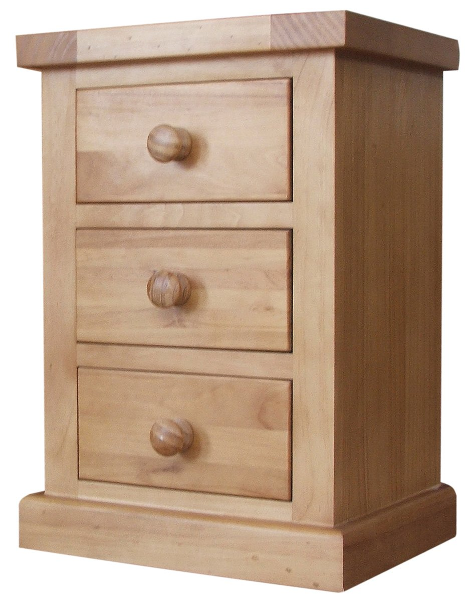 3 Drawer Bedside Cabinet 3-drawer Bedside Cabinet