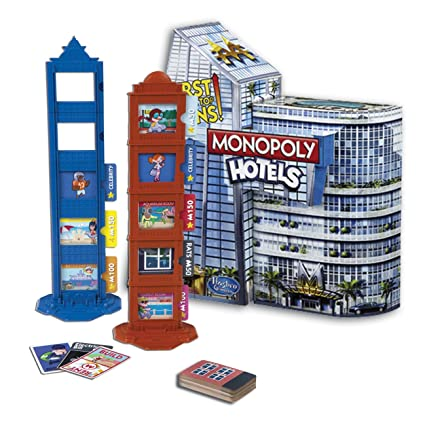 Hasbro - A21421010 - Jeu de Plateau - Monopoly Hôtels