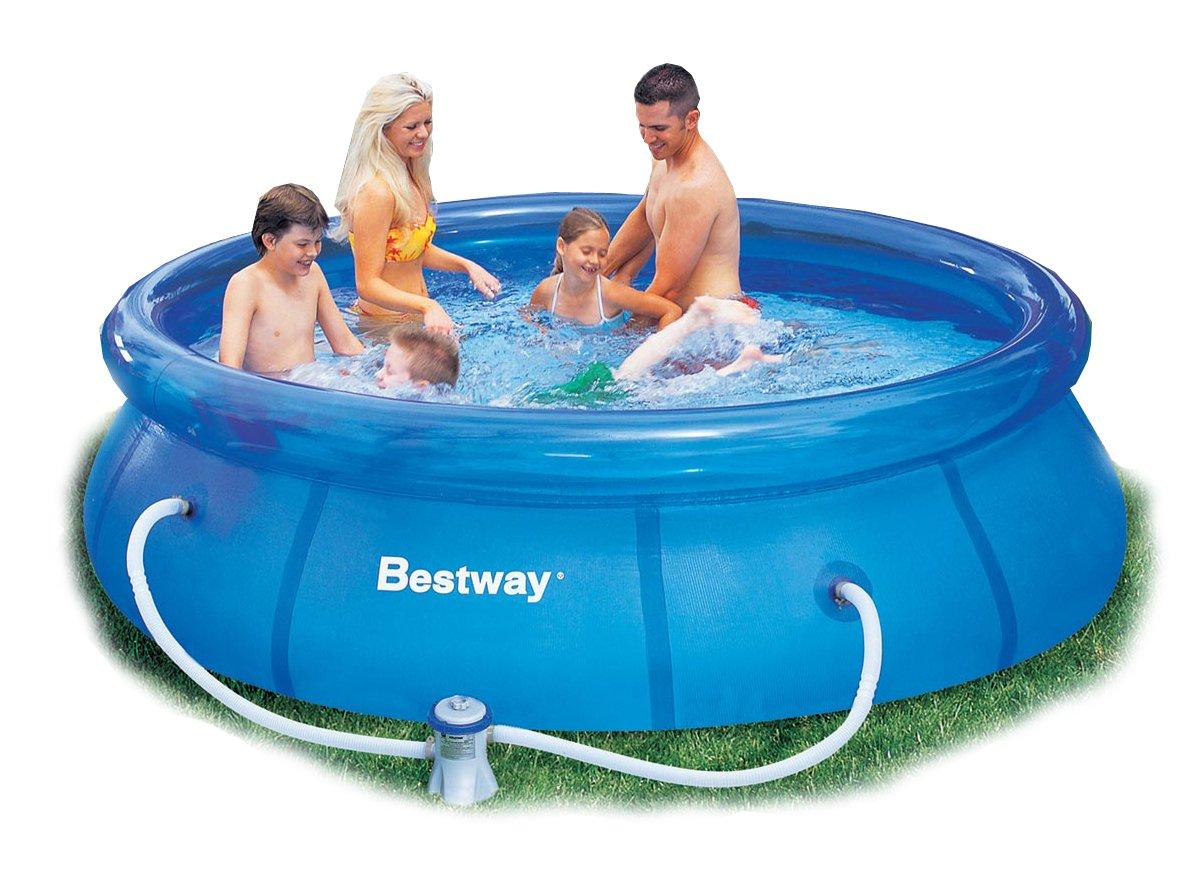 10ft x 30in Schnelle Pool Set mit Filterpumpe Bestway # 57109 [Spielzeug] online kaufen