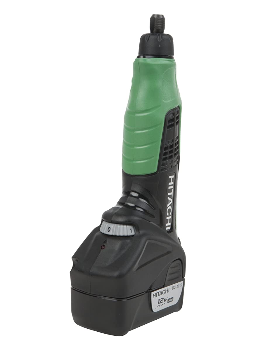 Hitachi GP10DL Cordless 12-Volt Peak Lithium-Ion Variable Speed Rotary Tool With 40-Piece Accessory Set