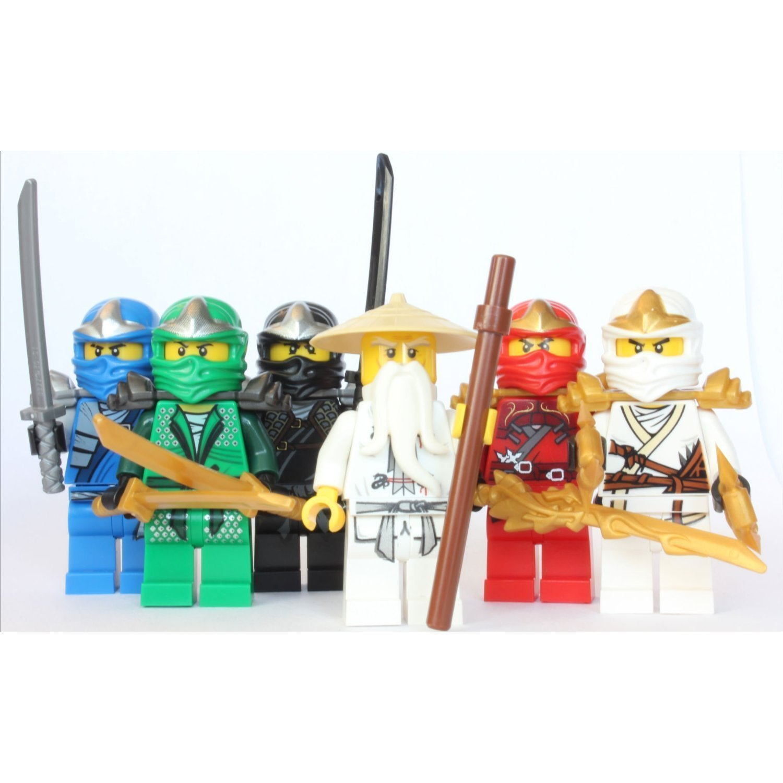LEGO Ninjago – Sensei Wu + 5 ZX Ninjas – Lloyd, Kai, Cole, Jay & Zane online kaufen