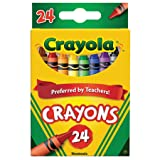 Crayola Crayons 24 ct (Pack of 2) (Color: Ast, Tamaño: 2 Packs of 24)