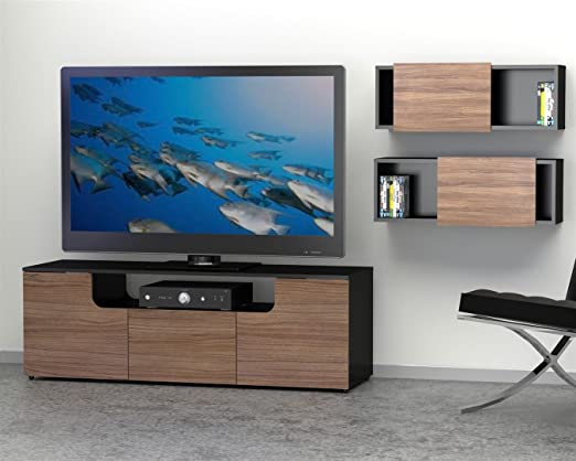 Next Entertainment Kit with 60-inch TV Stand & 2 Wall Shelves