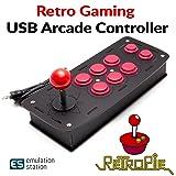 Crisp Concept Inc. Retro Games Arcade Type Controller Compatible with RetroPie Raspberry Pi 3