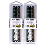 A-TECH 4GB KIT (2 x 2GB) For Dell XPS 420 710/710 H2C 710/710 H2C 720 720 H2C One 20 One 24. DIMM DDR2 NON-ECC PC2-6400 800MHz RAM Memory. Genuine Brand. (Tamaño: 4 Gb)