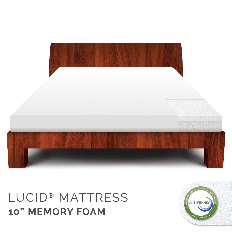 lucid 10 inch mattress