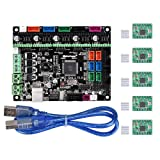 WitBot MKS Gen L V1.0 Controller Board Integrated mainboard Compatible Ramps1.4/Mega2560 R3 with A4988 Motor Driver for 3D