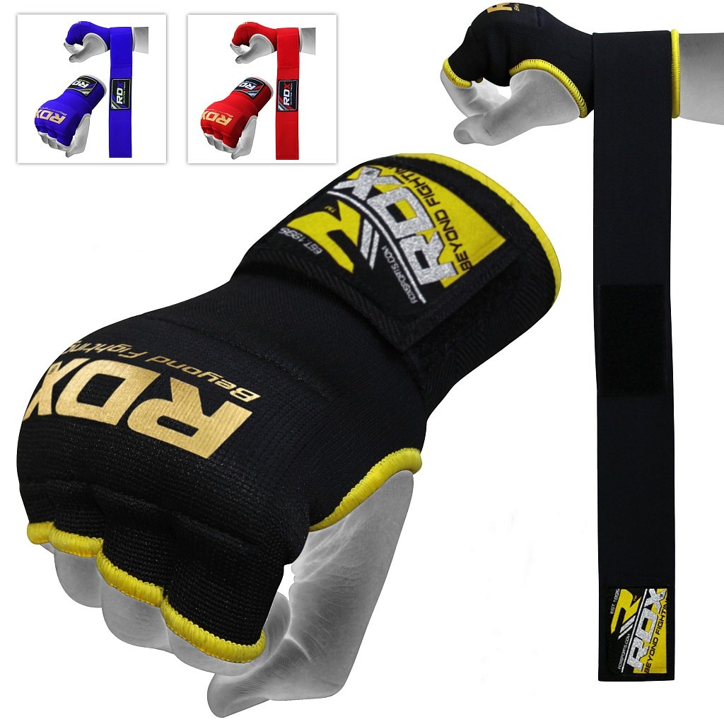 Authentic RDX Inner Hand Wraps Gloves Boxing Fist Padded Bandages MMA Gel Thai authentic rdx inner hand wraps gloves boxing fist padded bandages mma gel thai